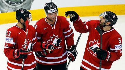 Канада отнесе Италия на световното първенство по хокей на лед