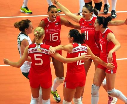 Волейболистките на България отстъпиха на Холандия с 1:3 в съвместната тренировка