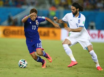 Япония и Гърция със скучно 0:0 (галерии)