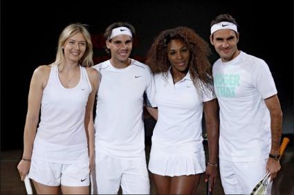 Вижте жребия на Надал, Федерер, Джокович, Мъри, Серина и Маша