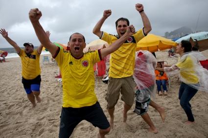 Двама колумбийски фена са получили огнестрелни рани в Куяба преди мача с Япония