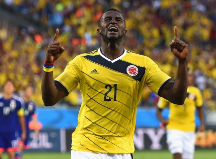 Джаксън Мартинес е Играч на мача Япония - Колумбия