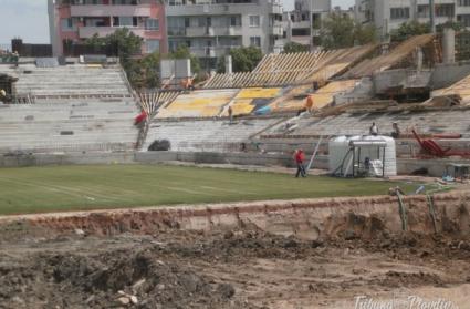 Ударът по КТБ засегна Ботев Пд, спират строежа на новия стадион