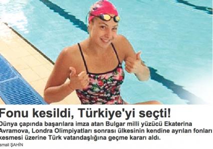 В Турция във възторг от Екатерина Аврамова