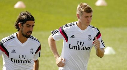 Кроос и Ди Мария подновиха тренировки с Реал Мадрид (снимки)