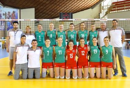 Девойките на България стартираха с победа на Балканиадата