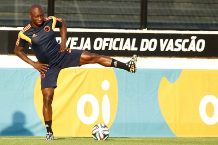 Милан взе ас на Колумбия