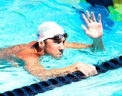 Майкъл Фелпс втори на 100 метра бътерфлай