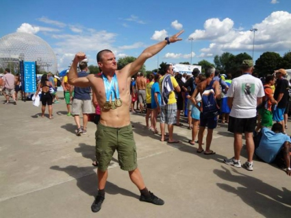 Красимир Захов с трето злато от световното по плуване за ветерани