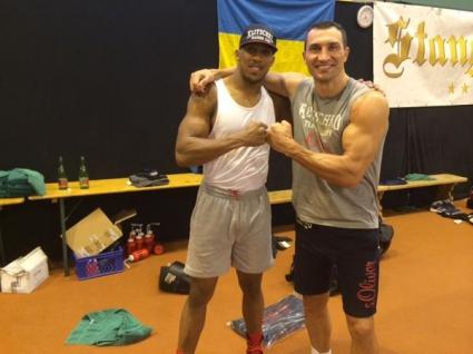 Кличко тренира с олимпийския шампион от Лондон-2012 за Кобрата