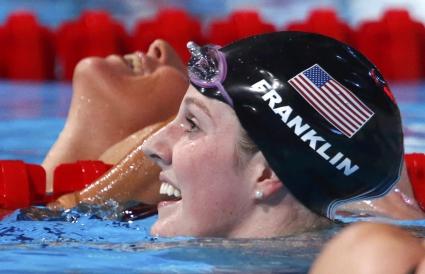 Без Миси Франклин на финала на 200 метра свободен стил