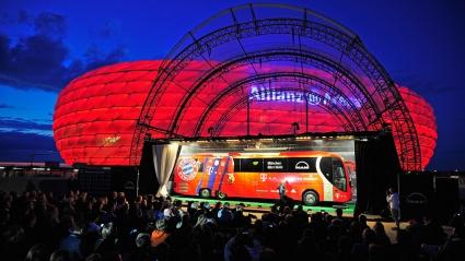 Запомнящо се представяне на новия рейс на баварците (видео)