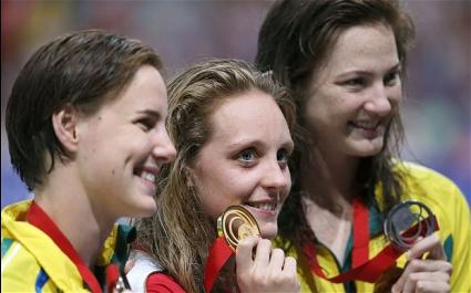 Триумф за Великобритания на 50 метра гръб за жени