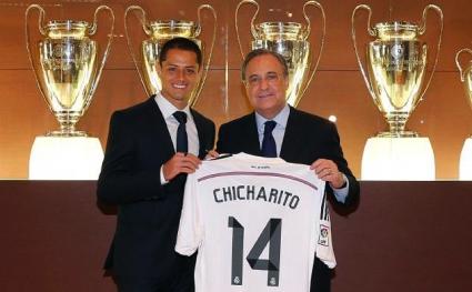 Ман Юнайтед и Реал потвърдиха за Чичарито, договорът е с опция за закупуване