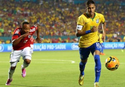 Неймар блесна за Бразилия при повторния дебют на Дунга (видео)