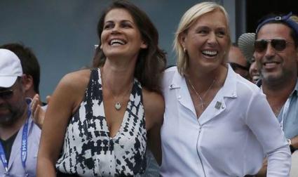 Навратилова предложи брак на приятелката си на US Open