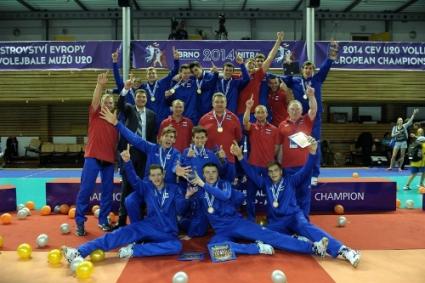 Русия е новият европейски шампион за младежи
