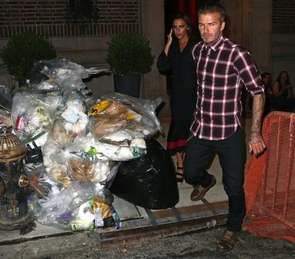 Дейвид спасява Вики от боклуците