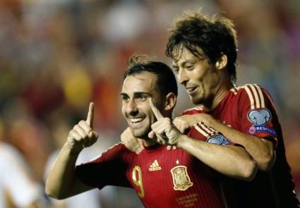 Испания върна силата си срещу македонците (видео+галерия)