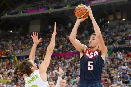 САЩ разби Словения и е на полуфинал на Световното