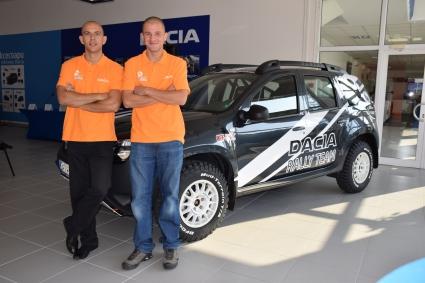 Dacia rally team с дебют в Balkan Breslau Rally