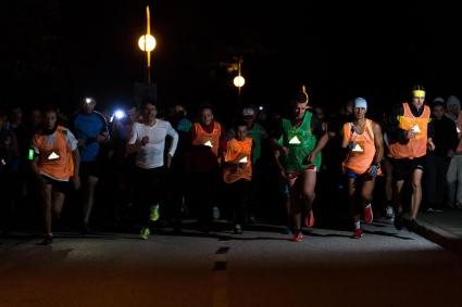 Първото нощно бягане с adidas и 5kmrun