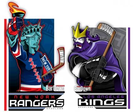 Мечки, горила и един опасен пингвин... време е за НХЛ (галерия)