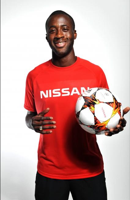 Яя Туре стана световен посланик на Nissan