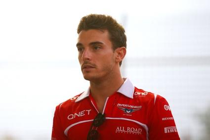 Пилотите от Формула 1 ще подкрепят Бианки на старта в Сочи (Снимки)
