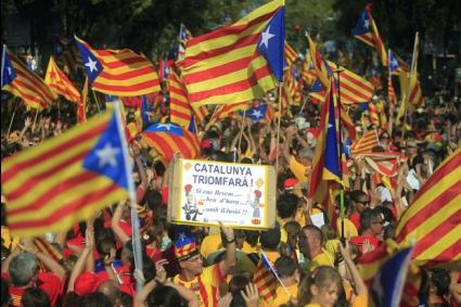 """Барса """"за"""" независима Каталуния, въпреки заплахите за изключване от Лигата"""