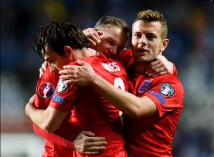 Слаба Англия измъкна три точки от Естония (видео)