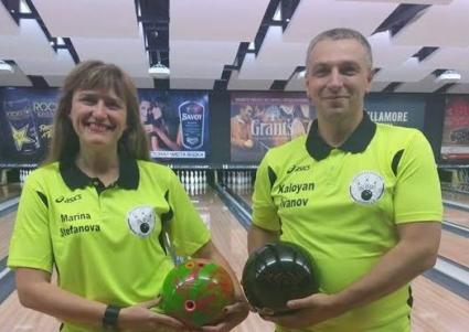 Калоян Иванов и Марина Стефанова ни представят ЕК по боулинг
