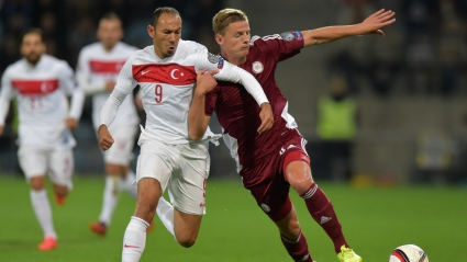 Латвия и Турция направиха нежелано реми (видео)
