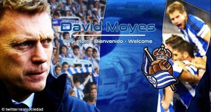 Официално: Дейвид Мойс пое Реал Сосиедад