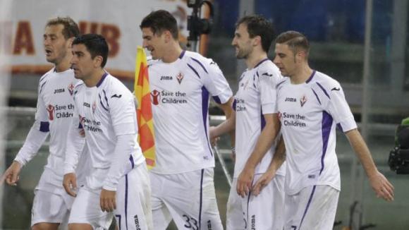 Агонията на Рома продължава, Марио Гомес прати Фиорентина на полуфинал срещу Юве (видео)