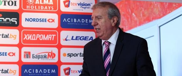 Томов: Сигурен съм, че ще дадем всичко от себе си срещу Ботев