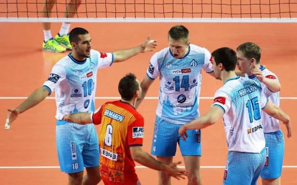 Динамо (Москва), ЗАКСА и белгийския Асе-Леник на полуфинал за Купата на CEV