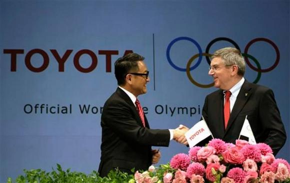 Тойота става основен спонсор на МОК до Олимпийските игри през 2024 година