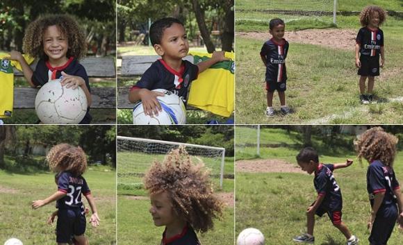 Малките Давид Луис и Тиаго Силва вече са от ПСЖ (снимки)