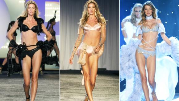 Страхотната Жизел Бюндхен слиза от модния подиум