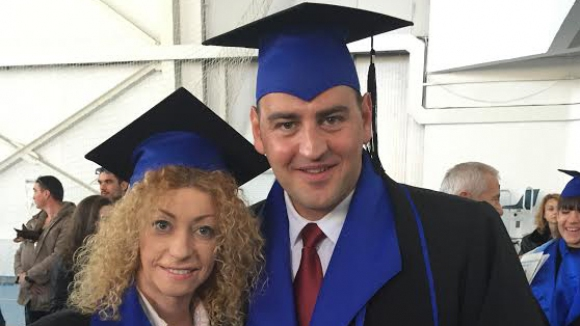 Петър Стойчев и Ина Ананиева станаха магистри