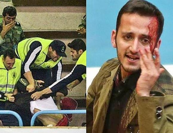 Бой и кръв след финала в Иран (ВИДЕО + СНИМКИ)