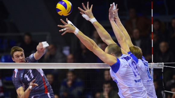Газпром с Алексиев и Тодоров тръгна с 0:3 срещу Белогорие в полуфинал №1 в Русия