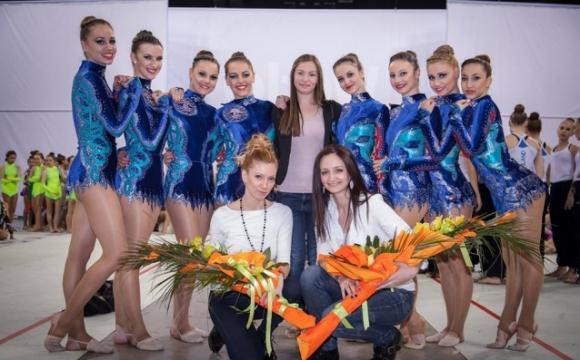България спечели бронзов медал на турнира от Световна купа по естетическа гимнастика в София