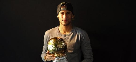 Неймар получи трофея за най-добър бразилец в Европа