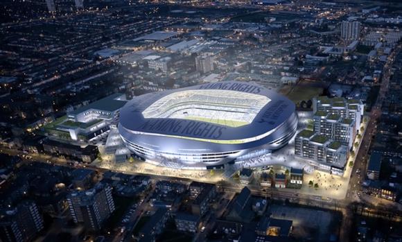 Тотнъм премахна и последната пречка пред строежа на нов стадион