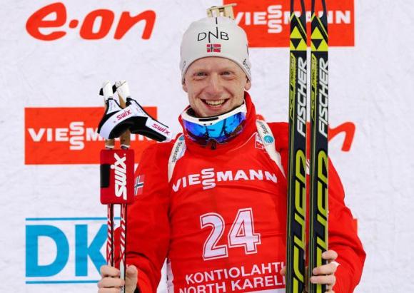Световният шампион в биатлона Йоханес Бьо подписа договор като футболист