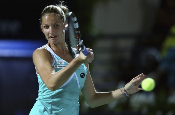 Плишкова е първата 1/2-финалистка в Прага
