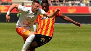 Монпелие наказа Ланс с гол в последната минута