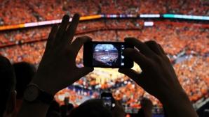 Отличниците в социалните мрежи в света на спорта
